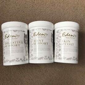 Eden 'Holistic Pet Foods' Dog Supplements