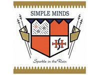 "Sparkle in the Rain Simple Minds Limited Edition White Vinyl 12"" Album"
