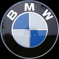 BMW Emblem Front Hood Or Rear Trunk Badge Symbol 82Mm