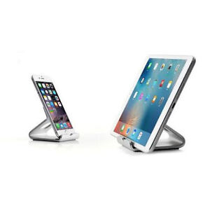 Universal Aluminum  Holder for Phone and Tablet (Silver) -$12
