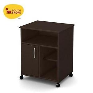 NEW SOUTH SHORE PRINTER STAND SMART BASICS COLLECTION - CHOCOLATE - HOME - OFFICE - FURNITURE 105235505