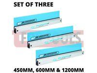 3X OX SPEEDSKIM PLASTERING RULE 450MM, 600MM & 1200MM