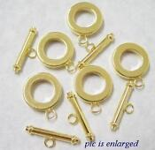 Gold Plated Toggle Clasp