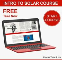 ONLINE SOLAR COURSES FOR CANADA