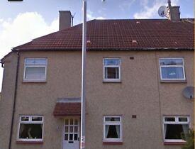 Unfurnished 3 bed flat in Gartlea