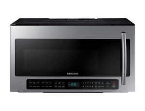 Brand new Samsung 2.1-cu ft Over the range microwave