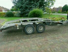 Trailer twin axle for Rent