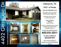 $  **********House For Sale MESQUITE TX !**********