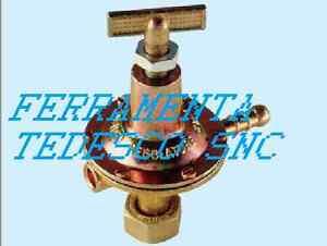 Regolatore gas gpl bombola alta pressione impianti fissi - Pressione bombola gpl cucina ...