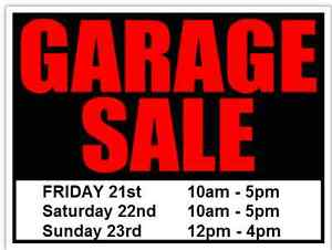 GARAGE SALE RAIN OR SHINE, ROCKLEY NOVA SCOTIA