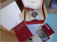Omega Seamaster 300m 41mm Automatic. Superb condition.