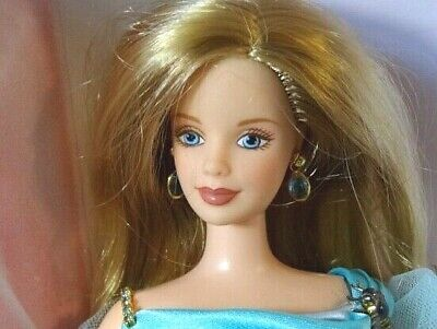 Barbie -40th Anniversary Festival - Aquamarine & Cream Gown Limited Edition 1994