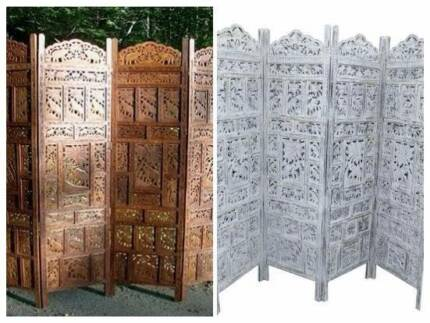 Oriental Cherry Blossom Room Divider Screen Asian Chinese Decor - Cherry blossom room divider screen