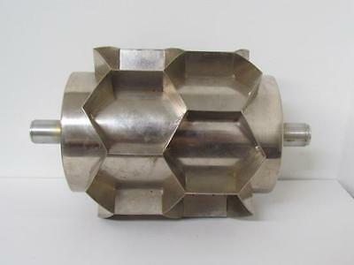 Moline Scrapless Hex Rotary Donut Cutter Cup Size D 2-14 2 Cups Wide