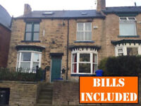 Newly decorated large 5 bedroomed student house within walking distance to Uni. BILLS INCLUSIVE