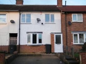 3 bed terraced house, long term let