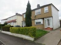 Newly Decorated 2/3 Bedroom Semi Detached House Available In Giffnock. (Next To Good Schools)