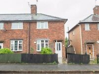 2 bedroom house to let in Sandhurst Street, Oadby (close to the Parade)