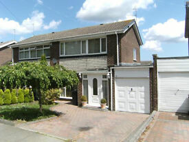 A lovely three bedroom semi-attached house to let