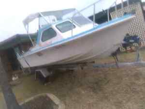 16 ft baron boat Mirrabooka Stirling Area Preview