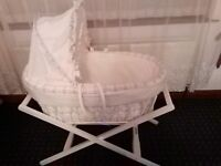 Moses basket £35, Very good conditions