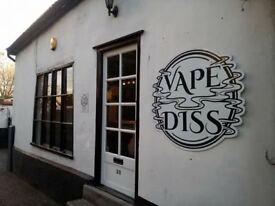 New Vape shop in Diss