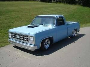 Modified 80 chevy SHORT BOX pick up