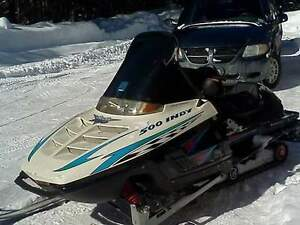 Indy 500 custom Trail Sled...Nice!