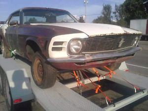 1970 MUSTANG WITH OWNERSHIP