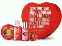 Body Shop Strawberry Heart Gift Set
