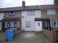 PRIVATE LANDLORD *NO AGENTS FEES* 2 DOUBLE BEDROM HOUSE TO LET IN DAGENHAM RM10 9PB 5 MINS FROM TUBE