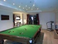 Antique snooker table must go this weekend!