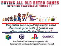Buying all Retro games