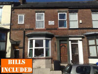 5 DOUBLE BEDROOMED furnished student house within walking distance to University. BILLS INCLUSIVE
