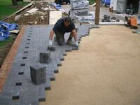Indian stone artificial grass block paving landscape garden services fencing decking flagging trees