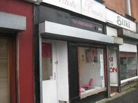 Shop Paisley Road West - Ibrox - Commercial - Full Window - Electric Shutter - Fresh Decor