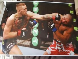 2 Conor McGregor posters,