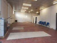 Warehouse Units with office space available in Luton