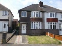 dss & working 73 Swan Crescent B69 4QQ 3 bed semi double glazing gas central heating upstairs bathrm