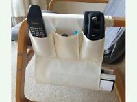IKEA remote control pocket over sofa arm or armchair POSTAGE £3.50