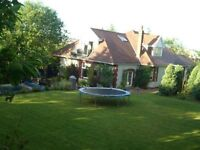 Stunning period detached property for rent set in 1/2 acre of private lush landscaped mature gardens