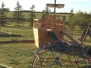 kids Pirateships and playhouses
