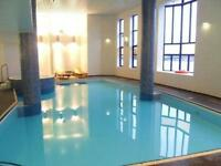 LARGE 4 DOUBLE BEDROOM WITH GYM POOL CONCIERGE GATED DEVELOPMENT OFFERED FURNISHED E14 CANARY WHARF