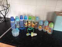 Bottles etc