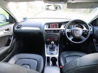 Audi a4 2.lt tdi with full black leather seats