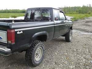 looking to trade 1990 ford ranger xlt 4x4 for a boat