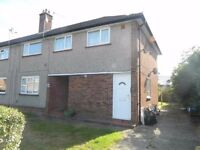 Top-floor two bedroom maisonette with parking and communal garden. Includes gas central heating.