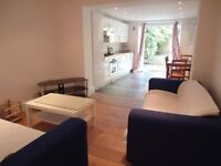 NICE 2 DOUBLE BED FLAT WITH SOLE USE OF OWN GARDEN - EXCELLENT TRANSPORT LINKS!!!