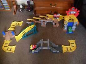 Tonka Chuck and Friends deluxe stunt set