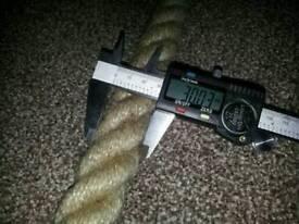 Natural Rope New